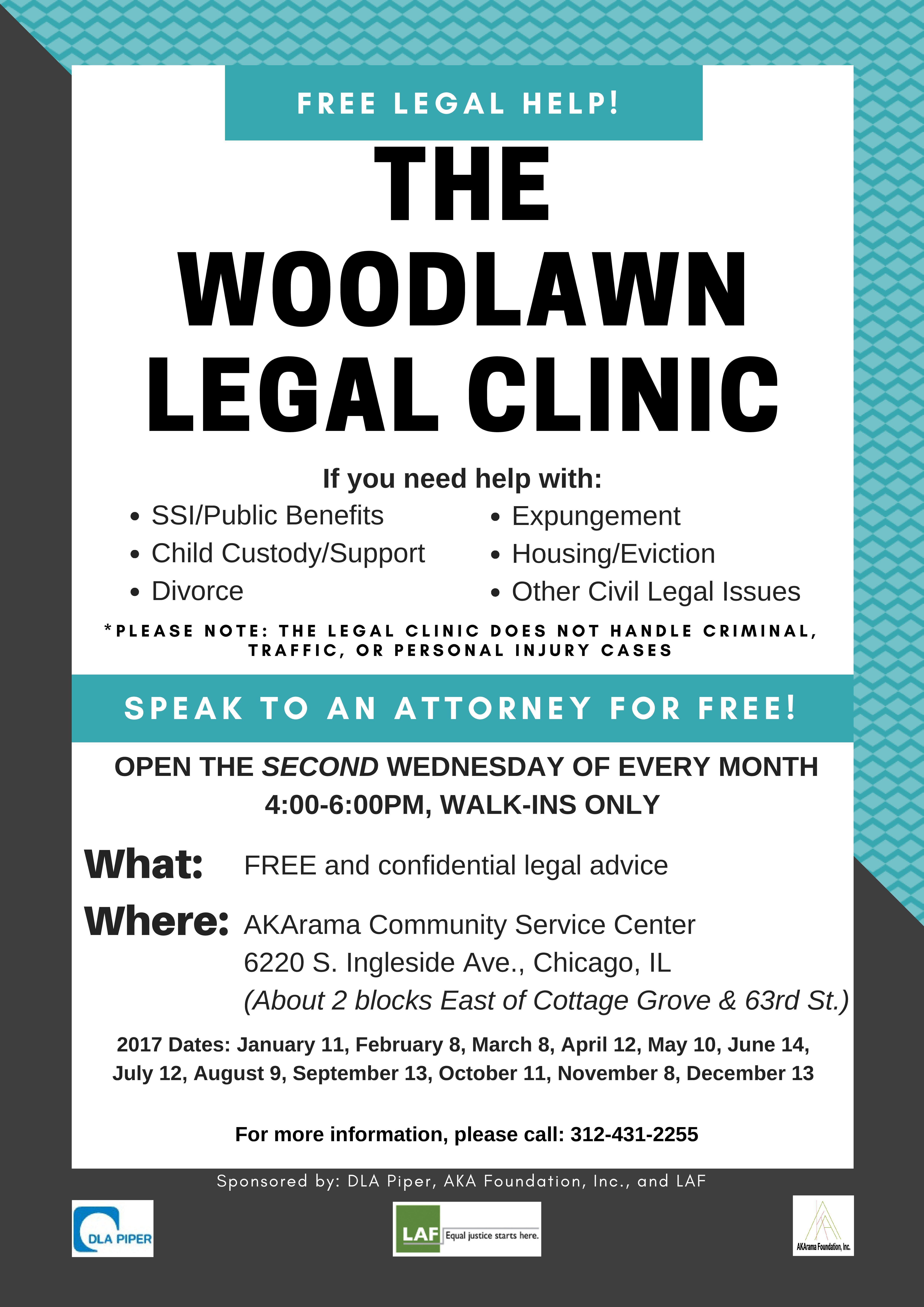 Legal Clinic 2017